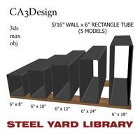 5 wall tube steel obj