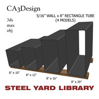 3d 5 wall tube steel