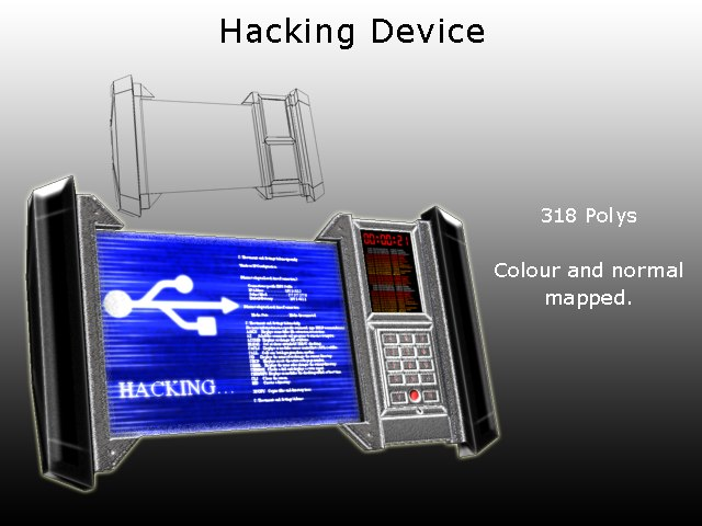 3d 3ds hand hacking device