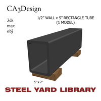 1/2 Wall x5 Rect Tube