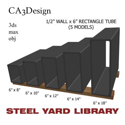 3d 1 wall tube steel