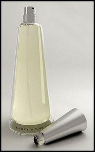 3d model of miyake perfume bootle