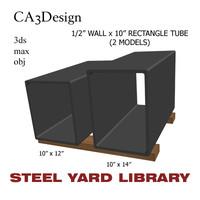 1 wall tube 2 3d max