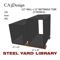 1 wall tube 2 3d model