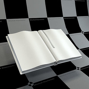 3dsmax open book