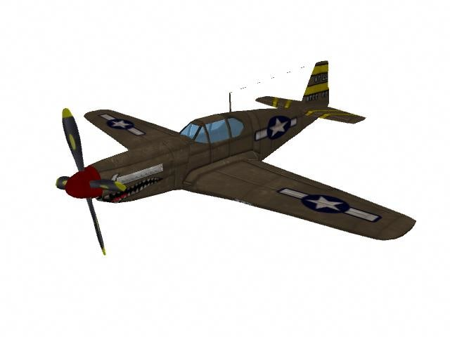 p51b mustang fighter jet ma