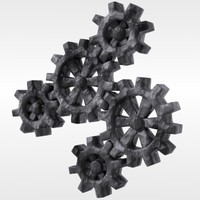 lwo gears industrial parts