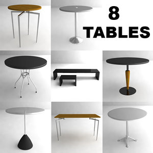 tables modern dxf
