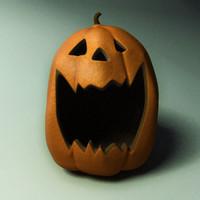3d burton pumpkin model