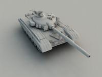 T72 NURBS tank model