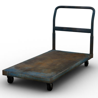 Hand Cart Platform Trolly
