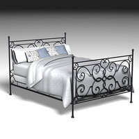 3 Wrought Iron Beds