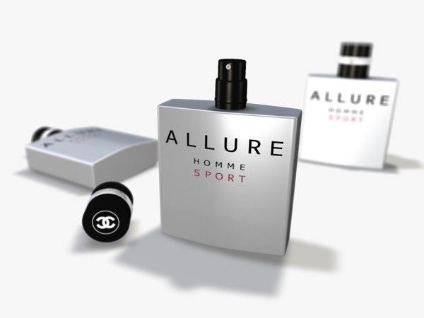 bottle perfume 3d model