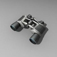 3d glass binocular