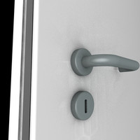 door frame handle c4d