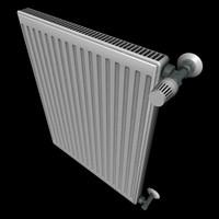 3d model radiator heizkörper