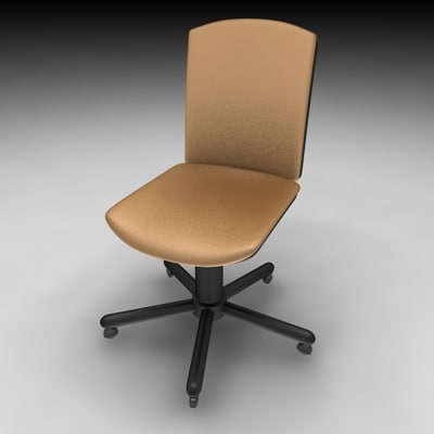 office chair c4d