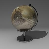 globe 3d 3ds