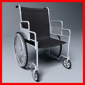 3ds max wheelchair wheel chair