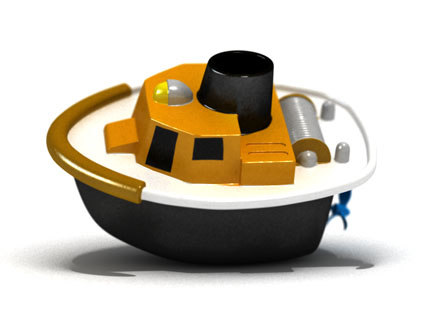3dsmax toy tugboat