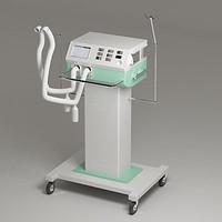 ventilator hospital 3d model