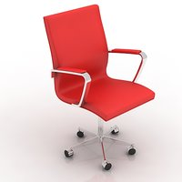 3d model chair highy office