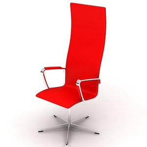 chair highy hotels 3d max