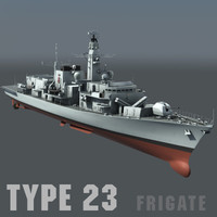 Type 23 Duke Class Frigate - Royal Navy