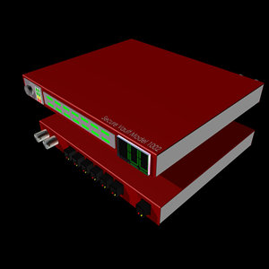 secure vault router 3d 3ds