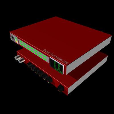 secure vault router 3d 3ds
