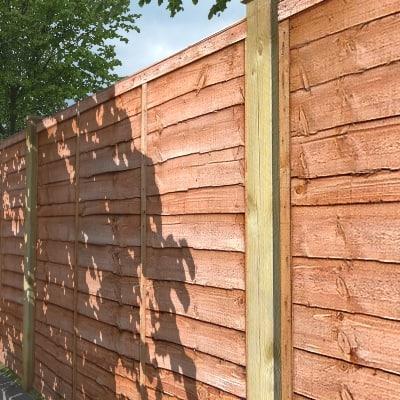 3d wane wooden fencing model