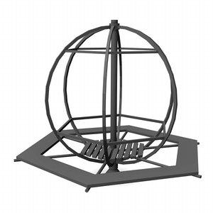 3d model whirligig playground