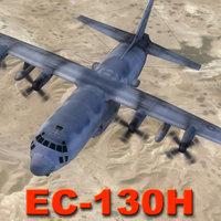 3d ec-130h compass aircraft