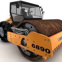 cinema4d steamroller roller steam