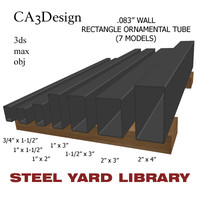 maya wall tube steel