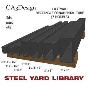 maya wall tube steel