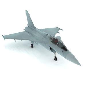obj dassault rafale fighter jet