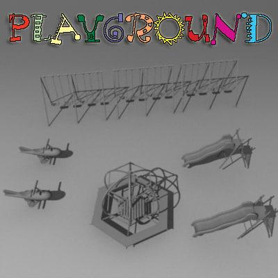 3d play playground ground