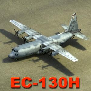 ec-130h aircraft 3d 3ds