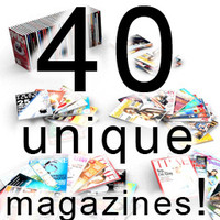 40 unique magazines