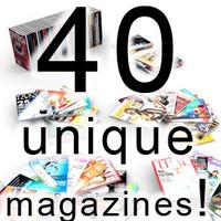 populate unique magazines 40 3ds
