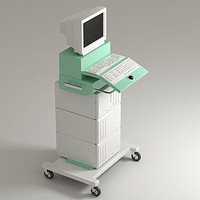 usg hospital interior 3d model