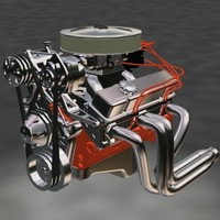 max resolution small block motor engine