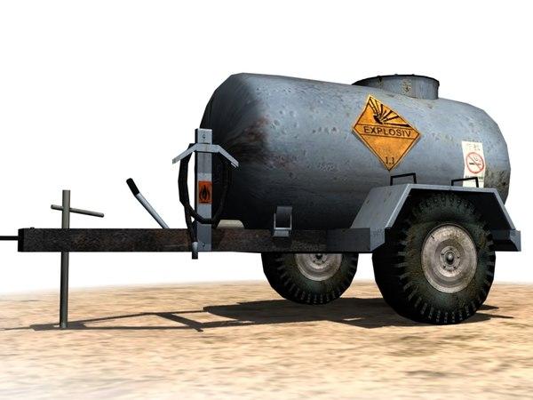 3d cistern trailer