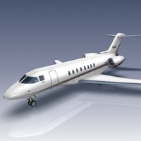 hawker 4000 aircraft business jet 3d model