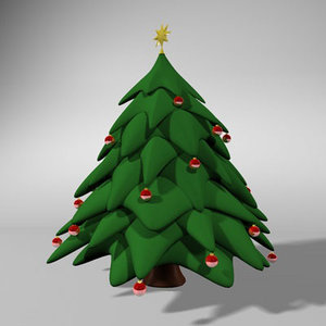 3ds max christmass tree