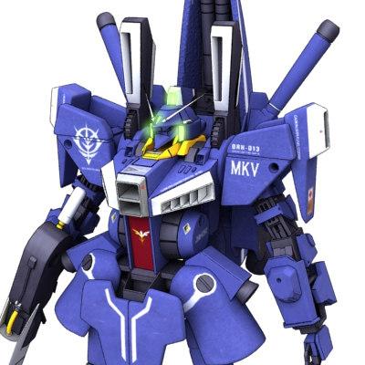 gundam gun 3d model