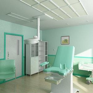 3dsmax gynecology office