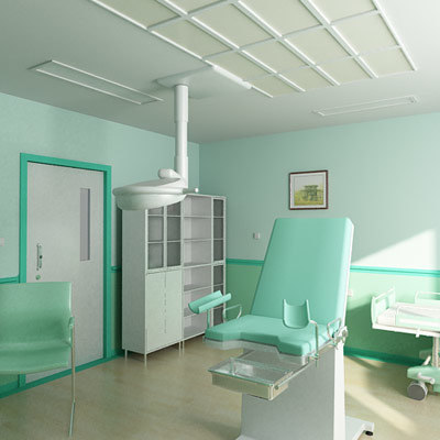 3dsmax gynecology office