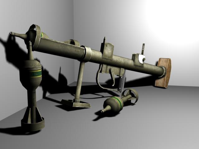 british piat launcher 3d